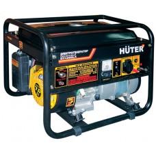 Бензиновый генератор Huter DY4000LX электростартер