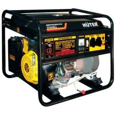 Бензиновый генератор Huter DY6500LX электростартер