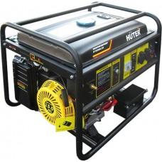 Бензиновый генератор Huter DY6500LXG газ: пропан-бутан, метан