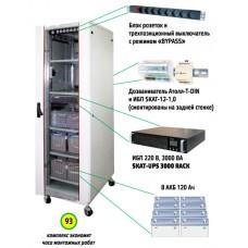 ИБП серии Rack Skat UPS 3000 Комплекс бесперебойного питания