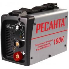 Сварочный инвертор Ресанта САИ-190К (компакт)