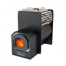 Дровяная печь для бани «Гранит мини+»
