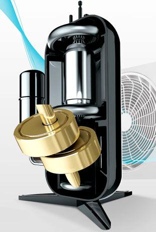 двухроторный компрессор LG