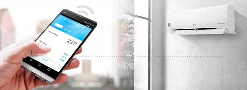 WiFi управление LG TS